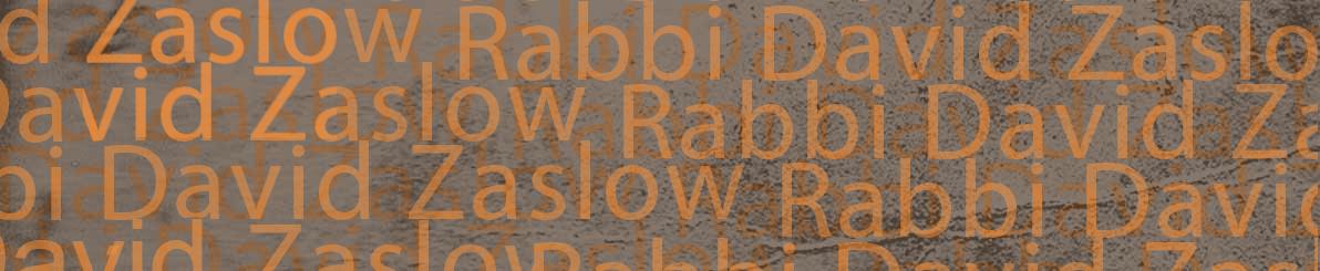 Rabbi David Zaslow